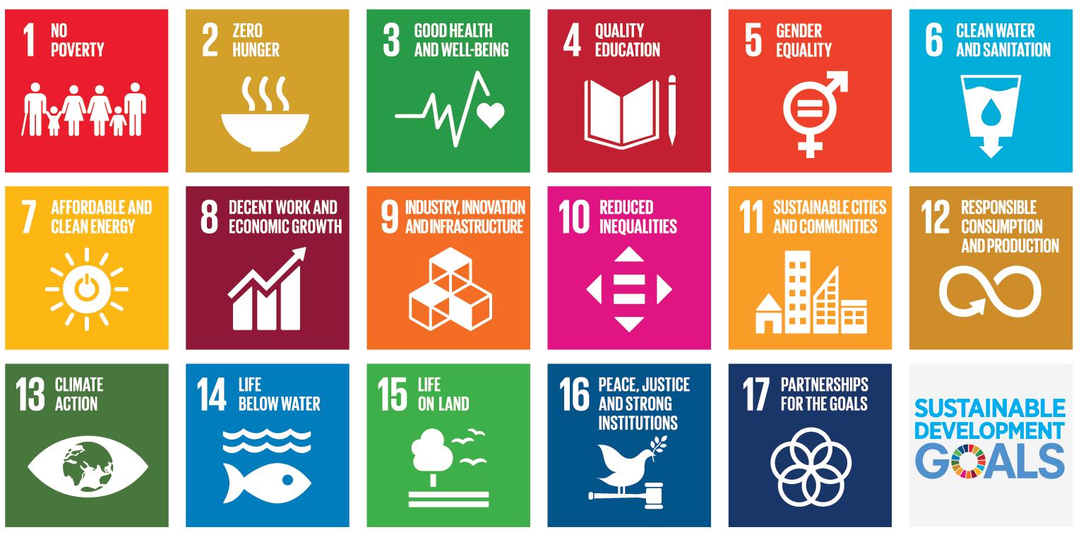 SDGs icons