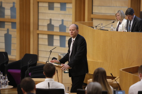 Attendees heard from the Convener, Gordon Lindhurst