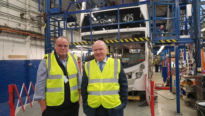 Gordon MacDonald and Andy Wightman visited  Alexander Dennis on 7 January.