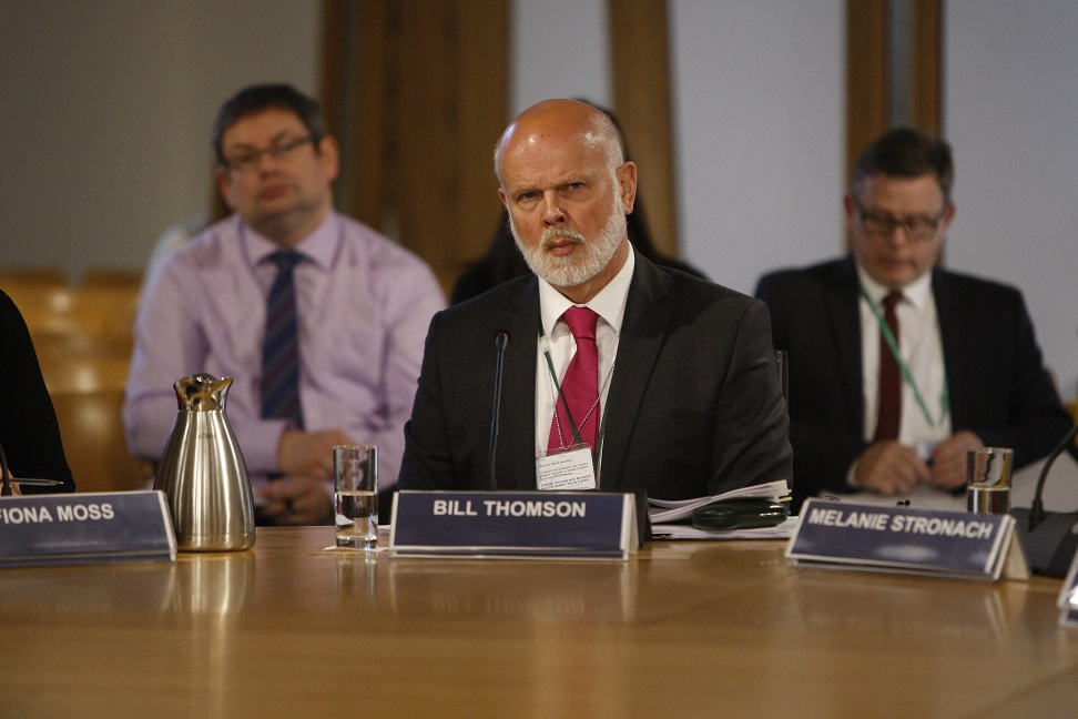 Commissioner for Ethical Standards in Public Life in Scotland gives evidence