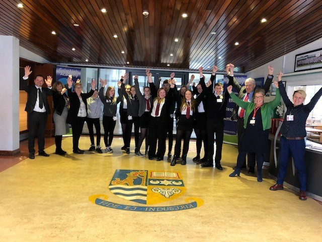 Members of the Committee met with pupil, teachers and educational officials from across the Scottish Borders. The Committee also met members of third sector organisations,  including See Me and Quarriers, who work in partnership with secondary schools.