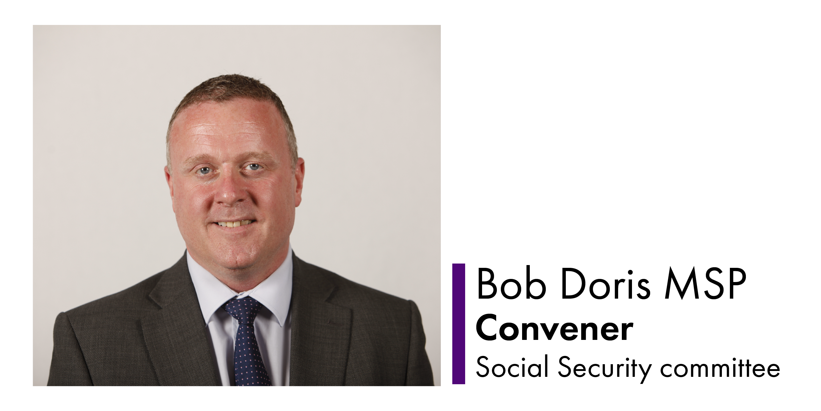 Photo of Bob Doris MSP, Convener of the Social Security Committee